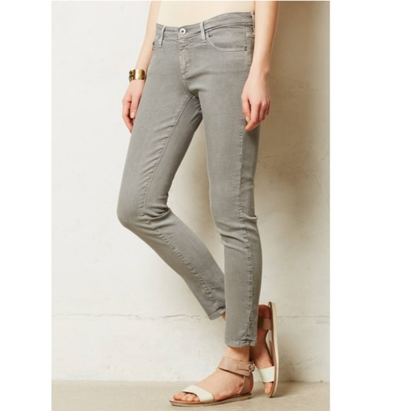 Ag Adriano Goldschmied Denim - Anthropologie AG The Stevie Ankle Zip